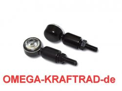Power LED-Blinker MC 1; schwarz; Kl arglas; EG
