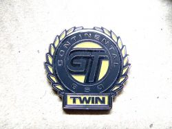 Gt 650 Twin Pin Yellow Military Clutch Anstecker Continental